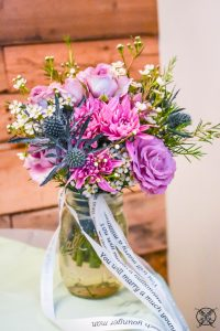Butterfly Landings JENRON DESIGNS Toss Bouquet