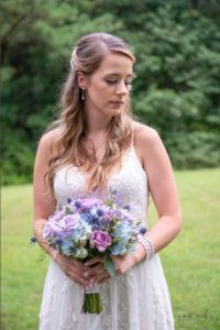 Butterfly Landings Jenron Designs bride