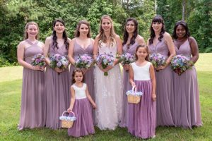 Butterfly Landings Jenron Designs bridesmaids
