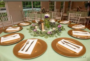 Butterfly Landings Jenron Designs centerpieces